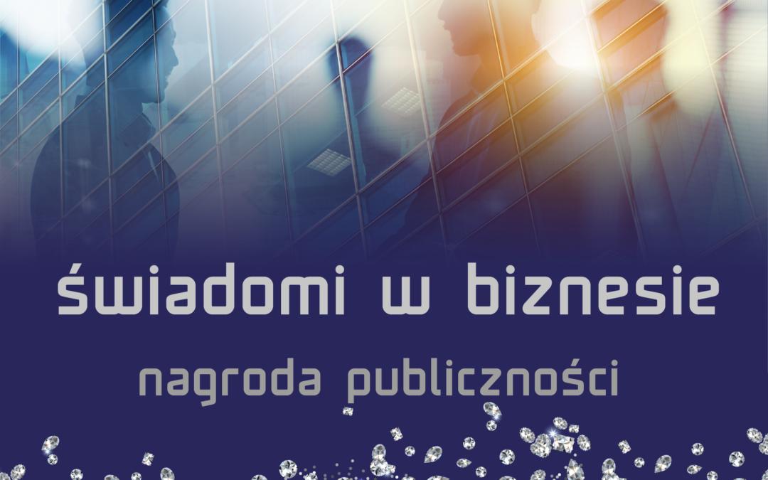 Świadomi w biznesie – Nagroda Publiczności